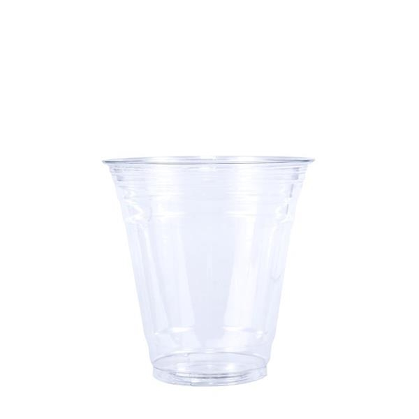 BLANK 12 oz. Clear PET Plastic Cup