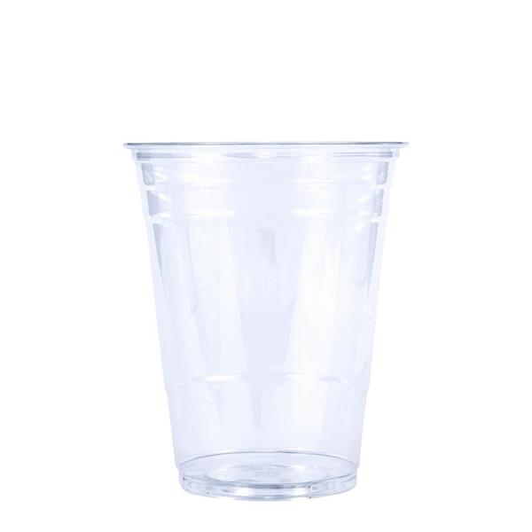 BLANK 16 oz. Clear PET Plastic Cup