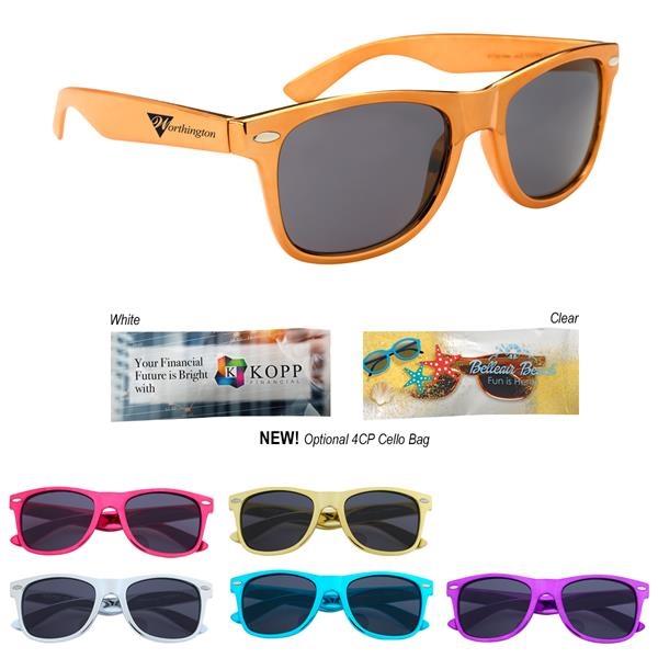 Metallic Malibu Sunglasses