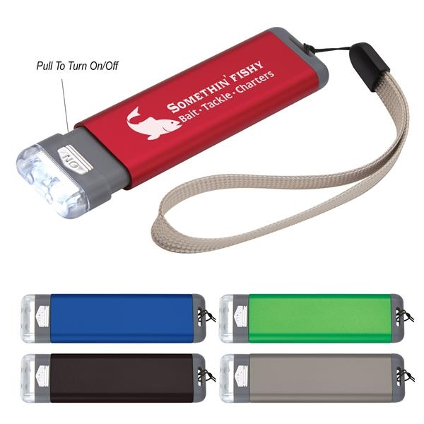 Aluminum Flashlight With Strap