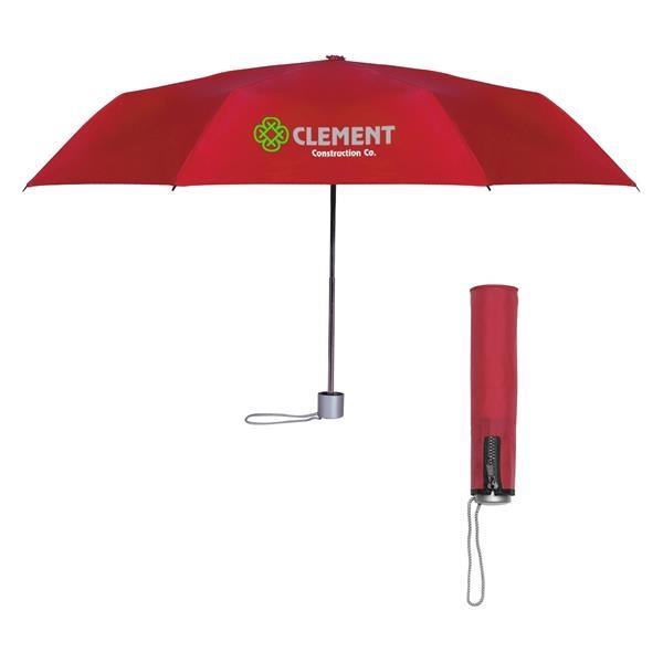 "42"" Arc Trendy Telescopic Folding Umbrella"