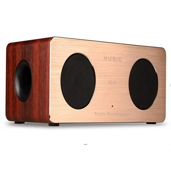 Classic Wooden Bluetooth Speaker Support TF Card