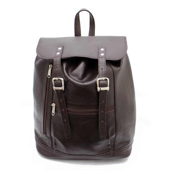 Zippered Compartment Backpack