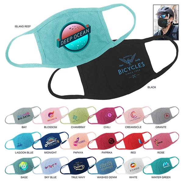 Custom Color 100% Cotton Protective Face Mask