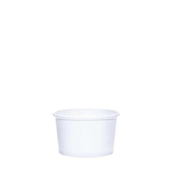 BLANK 4 oz. Paper Food Container