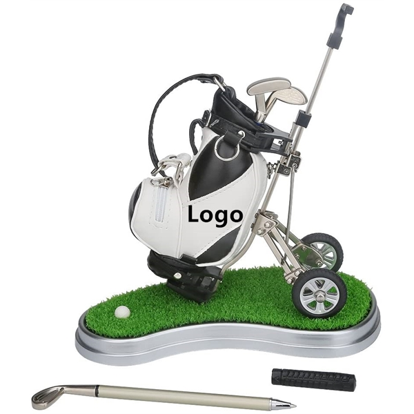 Golf Pens with Golf Bag Holder
