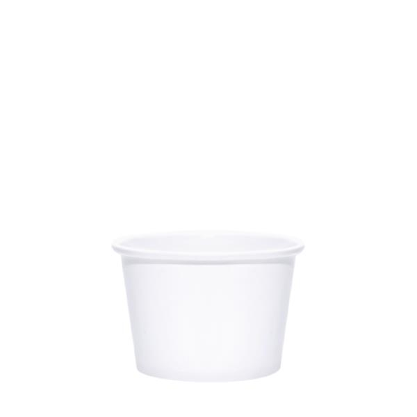 BLANK 8 oz. Paper Food Container