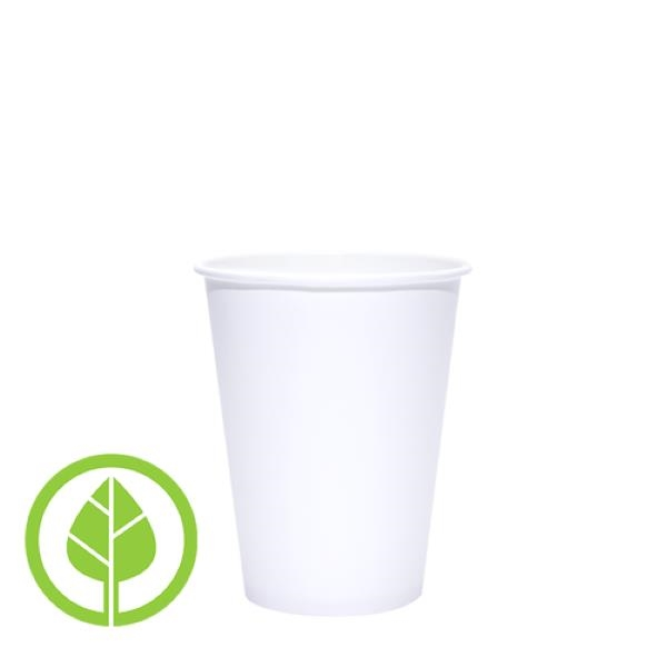 BLANK 12 oz. Eco-Friendly PLA Single Wall Paper Hot Cup
