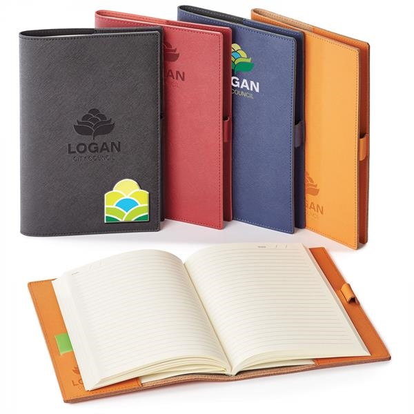 TOSCANO GENUINE LEATHER REFILLABLE JOURNAL