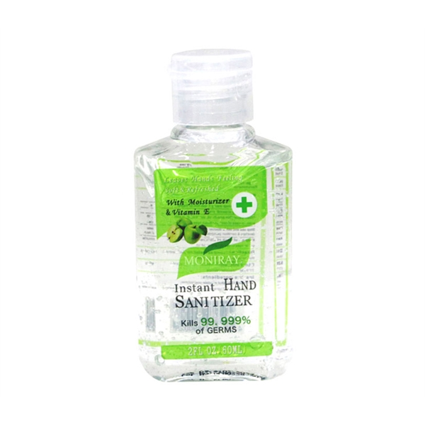 Hand Sanitizer with Alcohol, 2 oz.