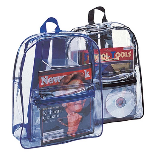 Liberty Clear Backpack.