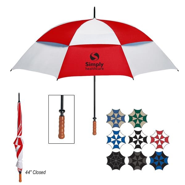 Arc windproof vented umbrella (68