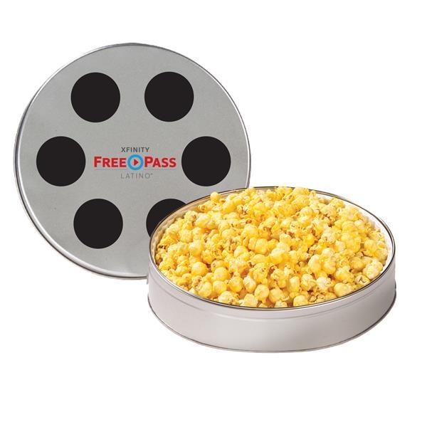 Large Film Reel Tin / Butter Popcorn