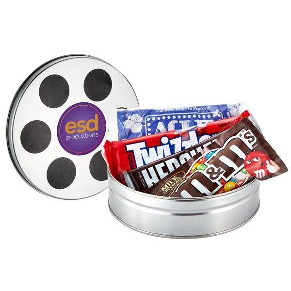 Small Film Reel Tin / Movie Pack