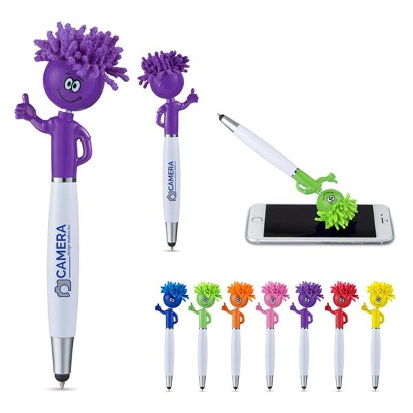 Thumbs Up MopToppers® Screen Cleaner with Stylus Pen