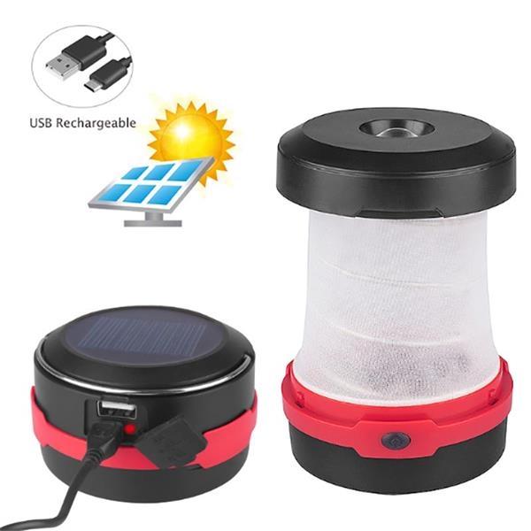 Solar-Powered Camping Lantern