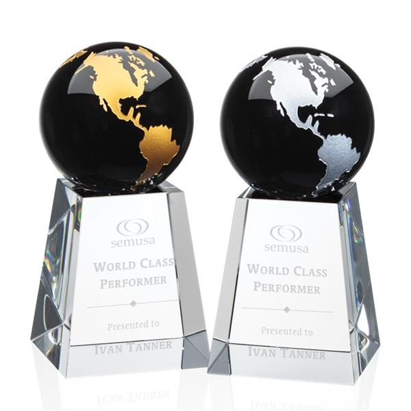 Heathcote Globe Award - Black