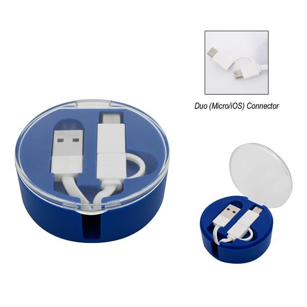 3-In-1 Gallivant Retractable Charging Cable