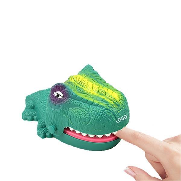 Dinosaur bite finger