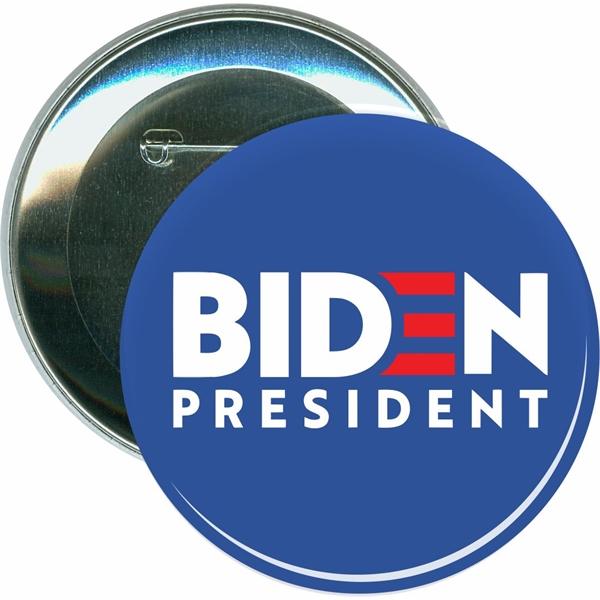 Biden 2020, Blue Background Biden, Political Button