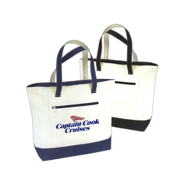 Captain Canvas Tote Bag