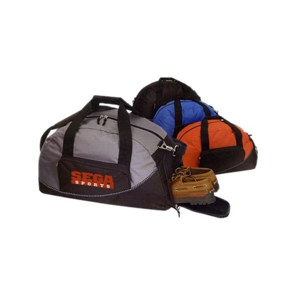 EXPANDABLE OVERNIGHT DUFFEL