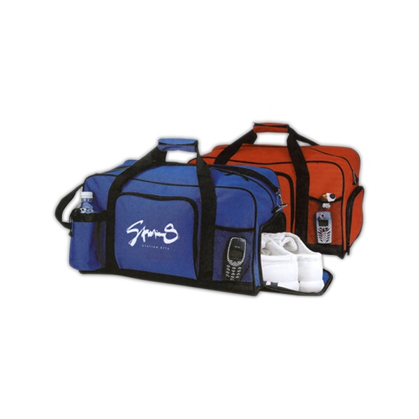 GYM GEAR DUFFEL