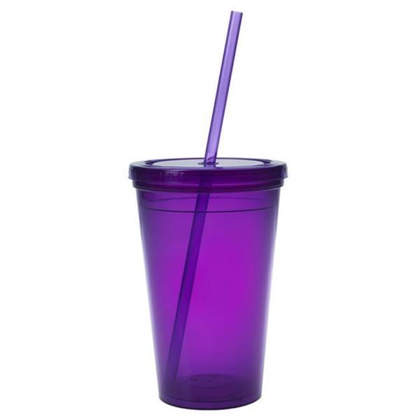 16 oz Acrylic Tumbler Plastic Cup