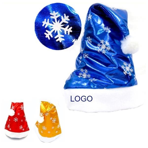 Snowflakes Christmas Hat