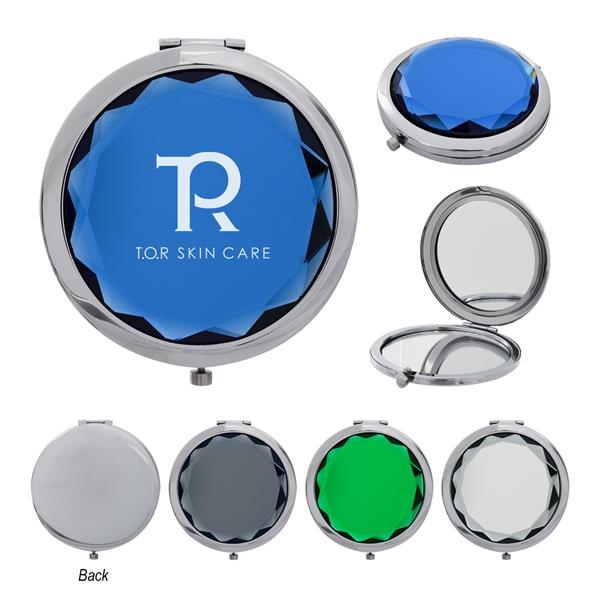 Jeweled Compact Mirror