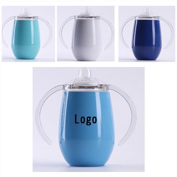 14 oz Stainless Steel Mug with Double Handle