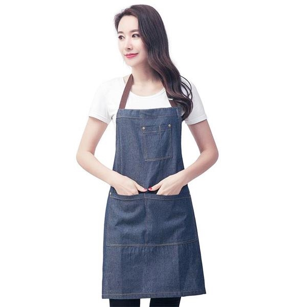 Unisex apron with adjustable strap