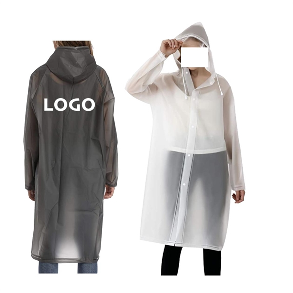 Reusable EVA Raincoat