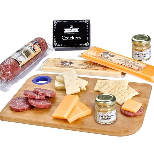 Charcuterie Favorites Board With Meat & Cheese Set