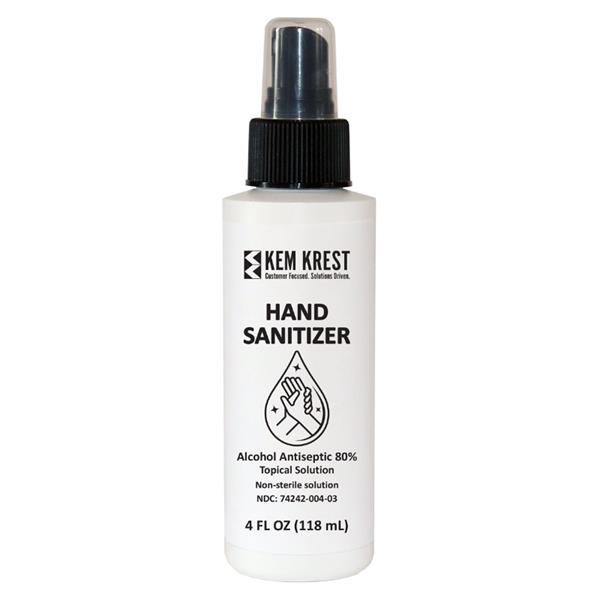 4 oz. Hand Sanitizer Pump Spray