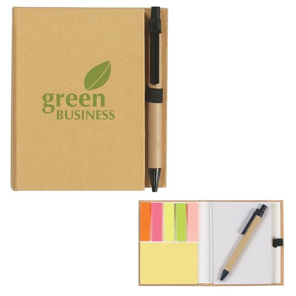 Eco-Inspired Notebook With Pen