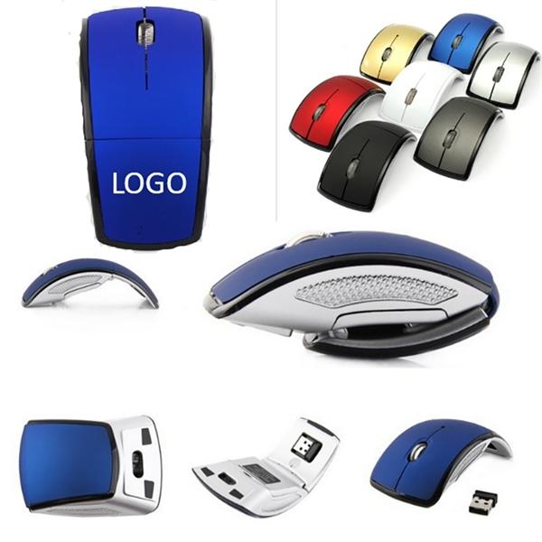 Wireless folding mouse