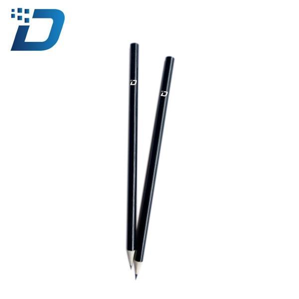 Black Round Wooden Pencil
