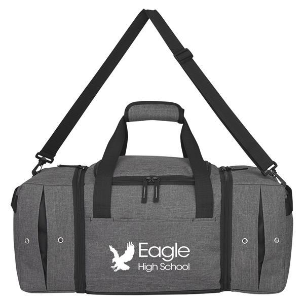 Deluxe Sneaker Duffel Bag
