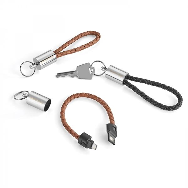 NATHAN   2-IN-1 CHARGING/DATA TRANSFER CABLE/KEY RING
