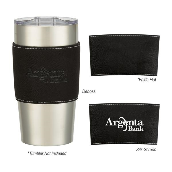 Leatherette Himalayan Tumbler Sleeve