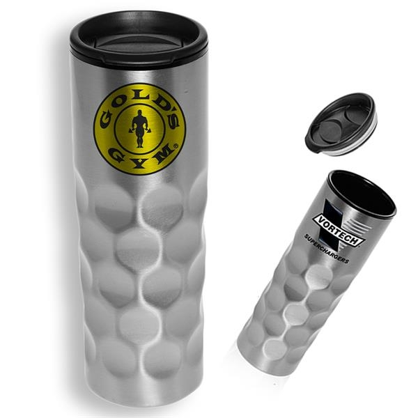 16 Oz Honeycomb Stainless Steel Tumbler