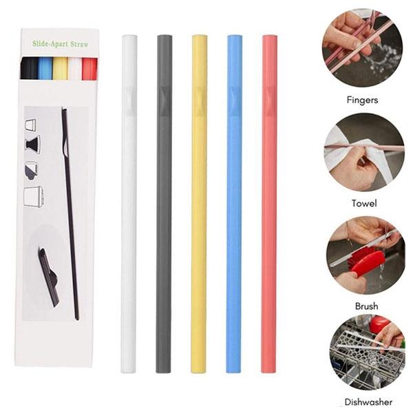 Reusable Detachable Straw Set of 5