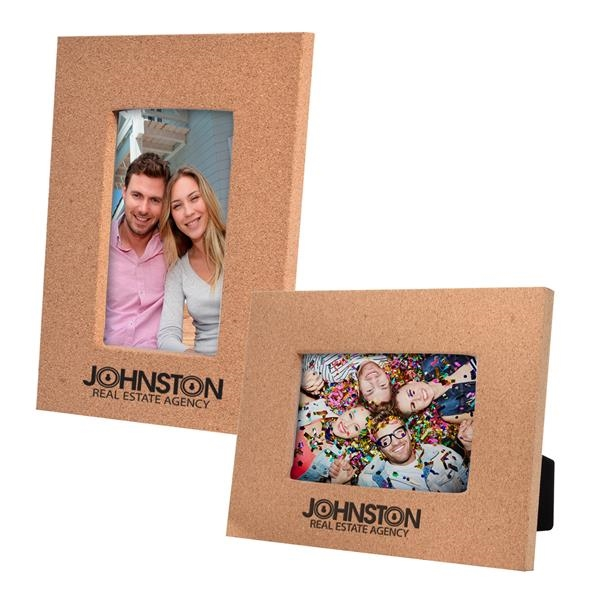 """4"""" x 6"""" Cork Picture Frame"""