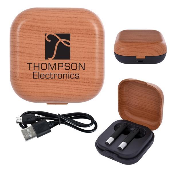 Elevate True Wireless Earbuds & Charging Base