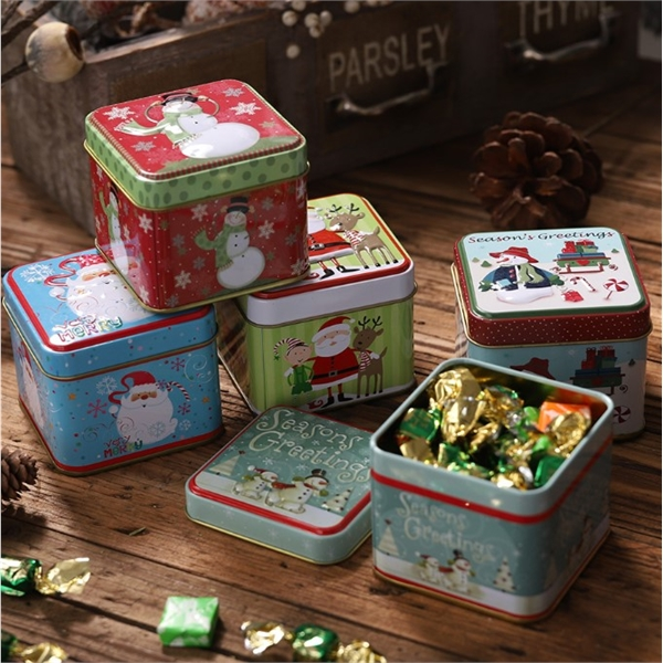 Christmas decoration candy box