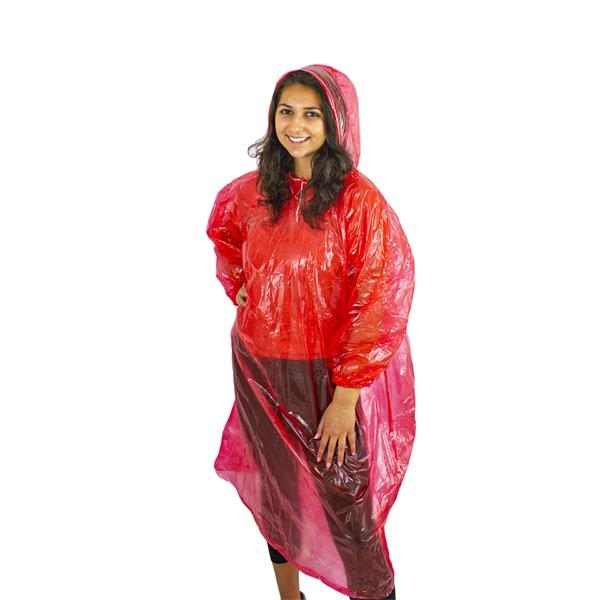 Disposable Poncho with Sleeves