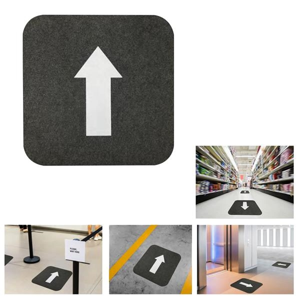 "17"" X 17"" Directional Floor Mat"