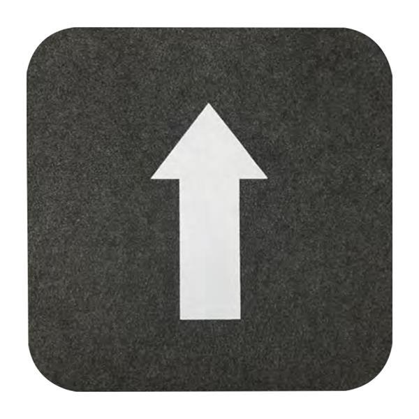 """17"""" X 17"""" Directional Floor Mat"""