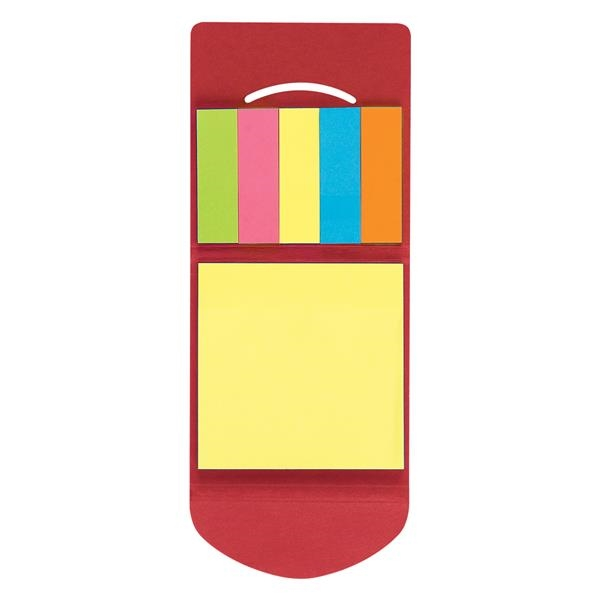 Sticky Notes & Flags In Pocket Case